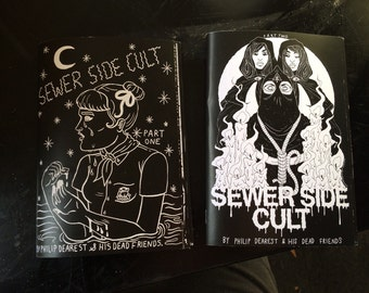 "The ""Sewer Side Cult"" Zine, Parts 1 & 2"