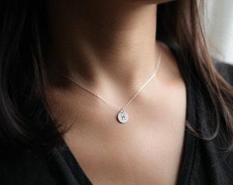 zodiac necklace, zodiac pendant, zodiac sign necklace, dainty necklace, constellation necklace - sterling silver