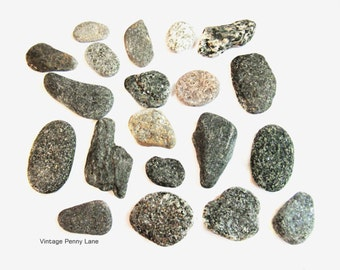 Sparkly Micha Beach Rocks, Collected Stones, Lake Ontario