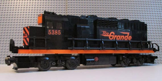 Custom Lego Rio Grande Gp40 Train Instructions No Bricks