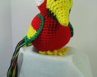 Mack the Macaw