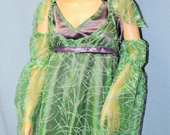 Clearance Green and Purple Fairy Dress