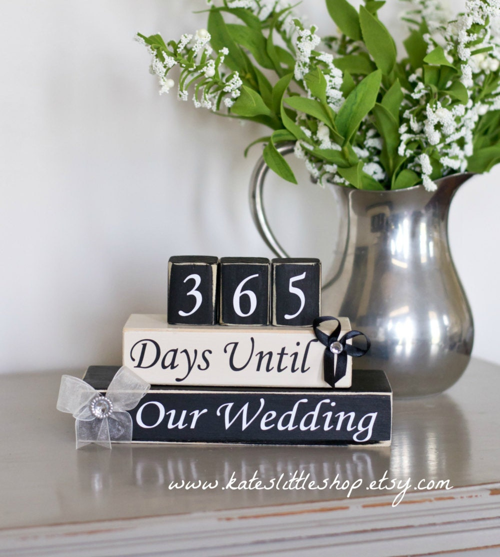 Countdown. Wedding Countdown Blocks. Countdown Until I