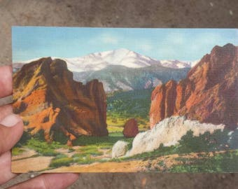 Pike's Peak Postcard