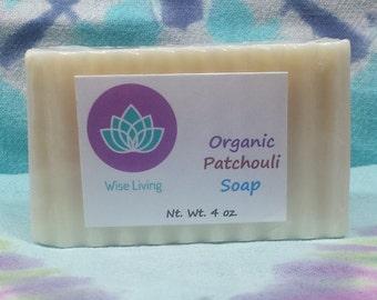 Organic Patchouli Soap//Patchouli Soap
