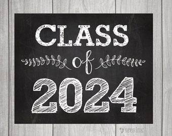 Class of 2024 - Back to School - Teacher Signs - First Day of School Sign- Teacher Signs