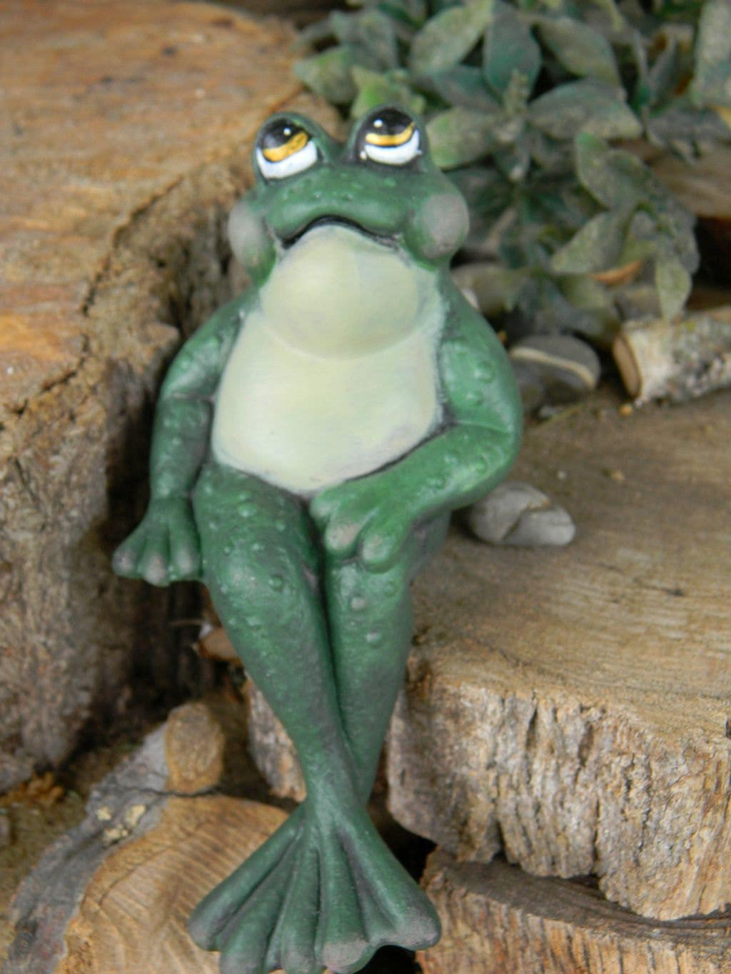 FROG Ceramic Garden decor He is sexy and he knows it...