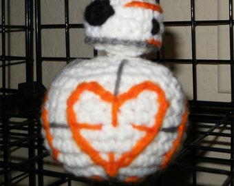 Valentine's Star Wars - Inspired BB-8 Heart Plush