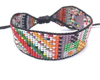 One-of-a-Kind Beaded Bracelet