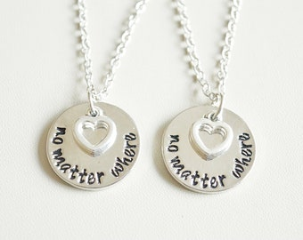 Matching Best Friend Necklaces, Matching Friend Necklaces, BFF gift,Friend Necklaces, Best Friend Jewelry, Compass Necklace, christmas gift