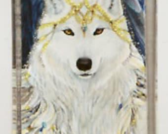 Angel Wolf Pendant