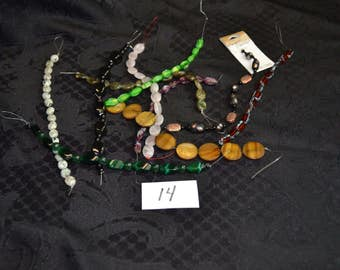 10 Strands of Various Beads