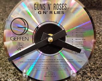 Guns N' Roses CD Clock