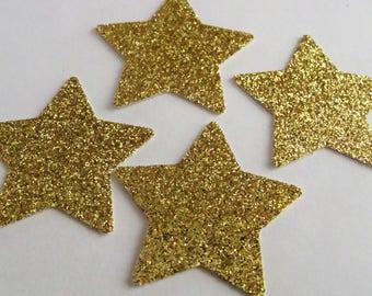 Gold Star Confetti, Baby Shower Decorations, Twinkle Twinkle Star Confetti, Star Table Decoration, Wedding Star Confetti, Birthday  Decor
