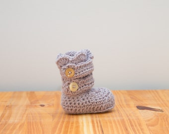 Baby Crochet Bootie's/Crib Shoes