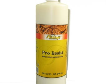 Fiebing's Pro Resist 32 oz Bottle Leathercraft