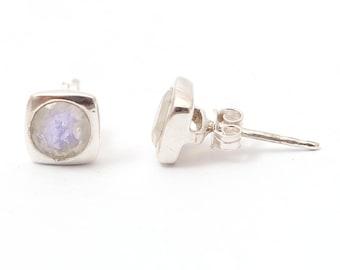 Rainbow 92.5 sterling silver earring