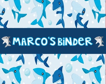 Shark Binder Cover