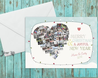 Holiday Cards, Christmas Cards, Thank You Cards, with envelopes - Set of (25)