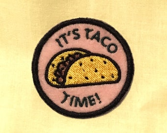 Taco Time Patch