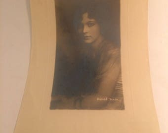 Interesting vintage photo sample for Haloid Texta brand of photographic papers circa 1920
