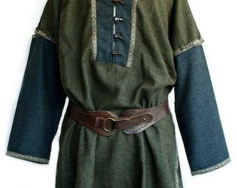 Sleeveless Woollen Jacket for Larp Cosplay SCA Costume zVofg8Nkb5