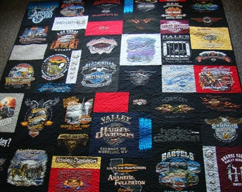 Custom T-shirt Quilt - Queen - No Money Down