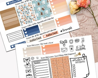 Small Business Theme Planner Weekly Sticker SMALL Kit, Passion Planner Sticker, Weekly Set, Sticker, Printed, Cut, Small Biz