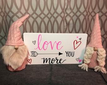 Valentine Gnome Couple Boy Tomte Girl Nisse Love Valentine Decor Scandinavian Gnomes
