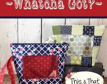 Whatcha Got Bag Pattern download