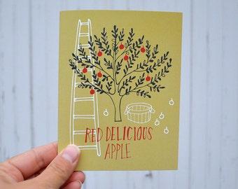 NOTECARDS: Iowa Apples