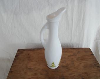 Vintage Small Milk Glass One Flower Vase