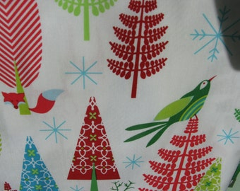 Festive Forest by Tamara Kate for Michael Miller Fabrics, DC6601, 1/2 Yard all cotton