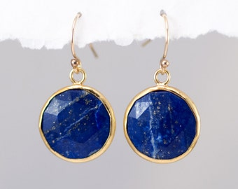 cushion full lazuli stud online cut at earrings lapis silver buy com