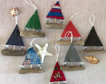 Sailboat Ornaments