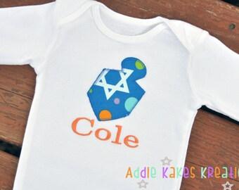 First Hanukkah Shirt / Hanukkah Baby Bodysuit / Dreidel Baby Bodysuit / Dreidel Shirt / Baby Girl / Baby Boy / Jewish Holiday