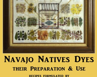 Navajo Native Dyes Their Preparation and Use