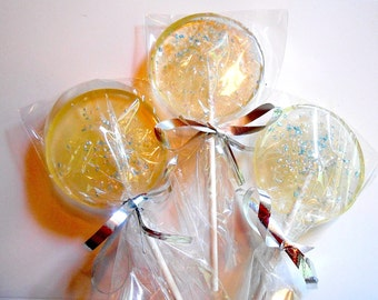 Gourmet Liqueur, Cordial, Liquor, Alcohol Choice, Edible Sparkle Giant Lollipops, Edible Favors, Wedding Party Favors, Wedding Favors