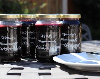 Glas-Etiketten, Etiketten, Flasche Aufkleber, Etiketten, Etsy-Shop-Promotion-Label, Etiketten, selbst Klebeetiketten, transparente Etiketten 3 Meter