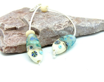 Handmade Lampwork Sea Theme Beads SRA 192