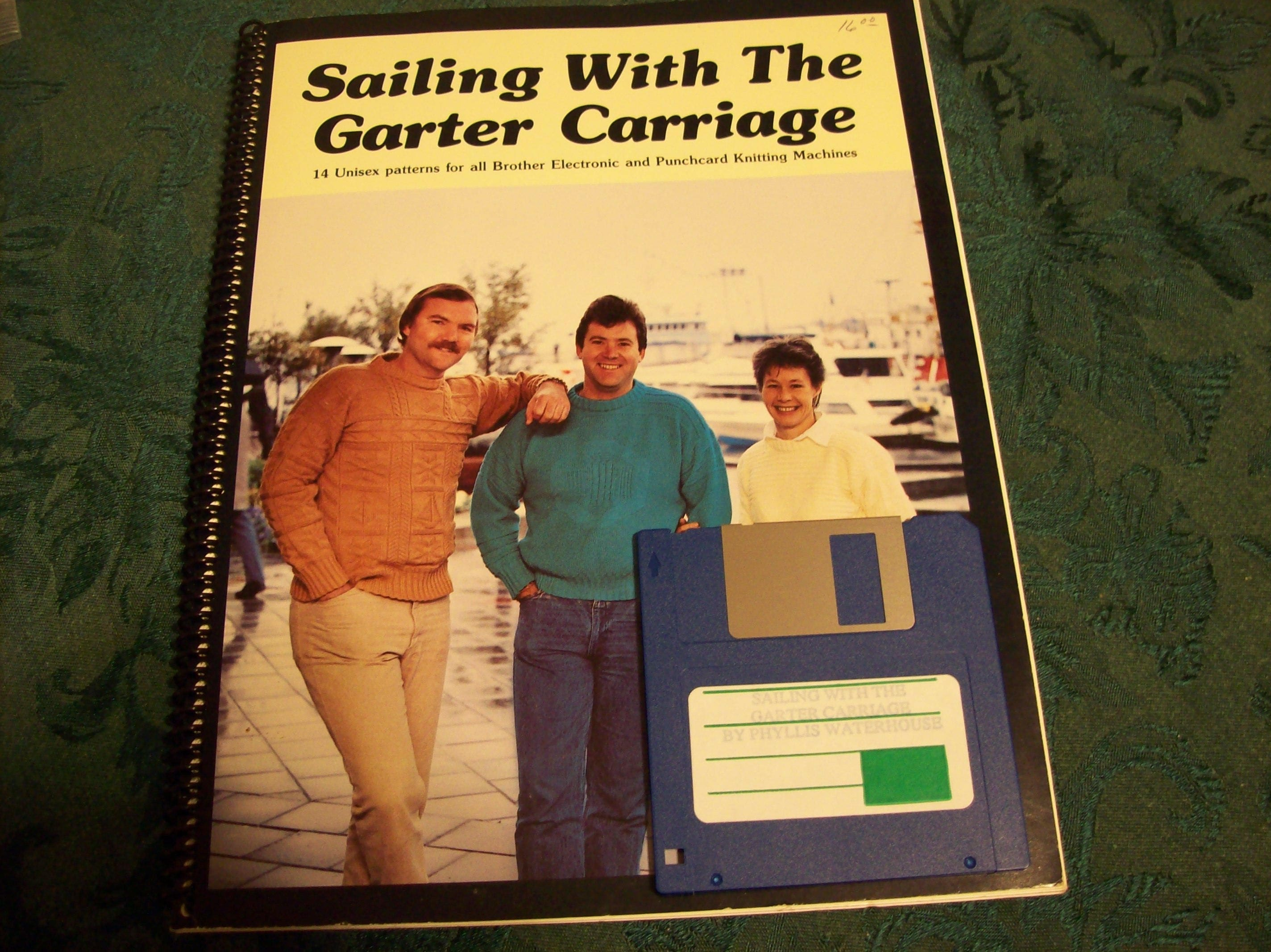 Sailing With The Garter Carriage Sweater Patterns for The