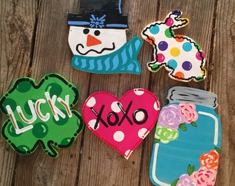 Interchangeable Attachments | Attachment ONLY | Door Hanger Attachments | Door Hanger | Door Decor | Seasonal Door Hanger | Celebrate