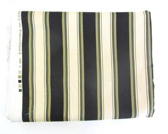 """Kingsway Fabrics Home Decorator Fabric Stripes """"Chico"""" 2 yards  Clearance"""