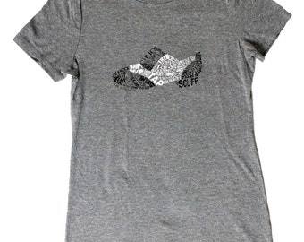 Shoe Women's Tee - Gray