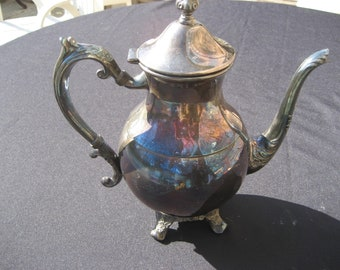 FB Rogers Co. Silverplated Teapot-2391-1883 pattern