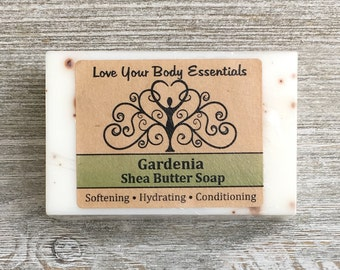 Gardenia soap hand made soap floral scented soap gardenia scented organic soap natural soap gardenia bar soap handcrafted soap women's soap