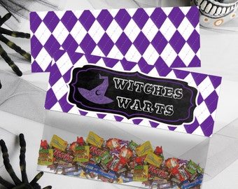 Witches Warts Bag Toppers, Halloween Treat Bag Toppers, Favor Bag Toppers, Halloween Candy Bag Toppers, Halloween Bag Toppers, Kids Party