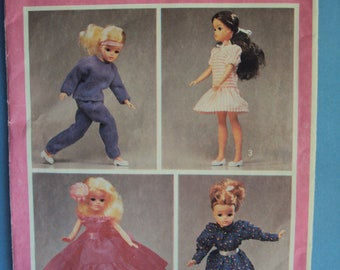 Sindy doll  clothes pattern Style Craft 4175 - 1980's-uncut