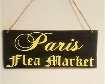 Mini Sign Paris Flea Market