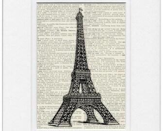 La Tour Eiffel 1889 print